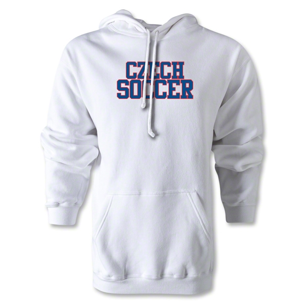 Czech Soccer Supporter Hoody (White)