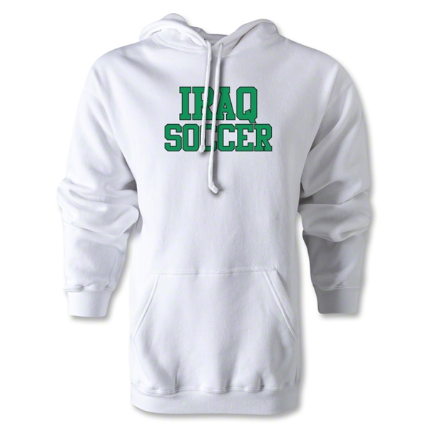 Iraq Soccer Supporter Hoody (White)