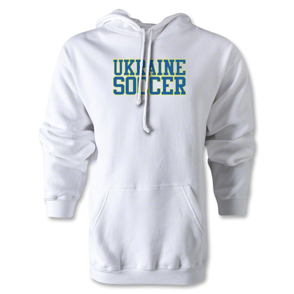Ukraine Soccer Supporter Hoody (White)