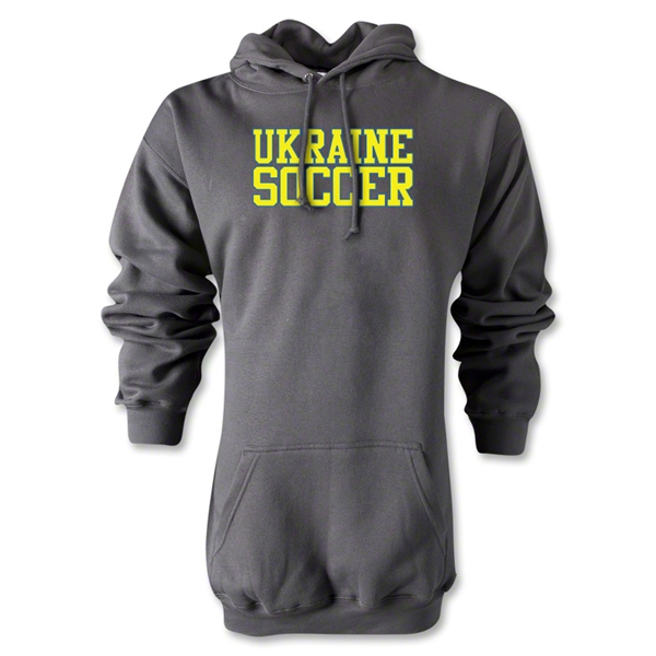 Ukraine Soccer Supporter Hoody (Gray)