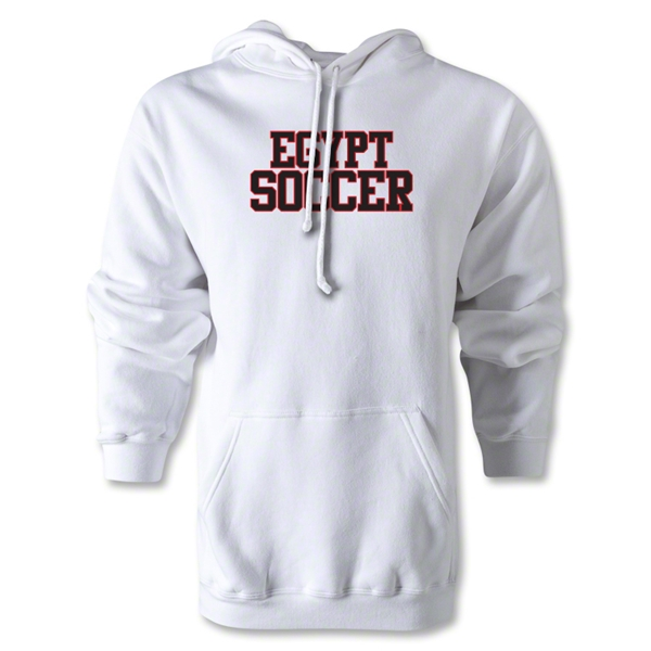 Egypt Soccer Supporter Hoody (White)