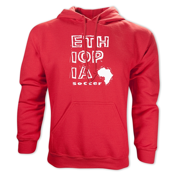 Ethiopia Country Hoody (Red)