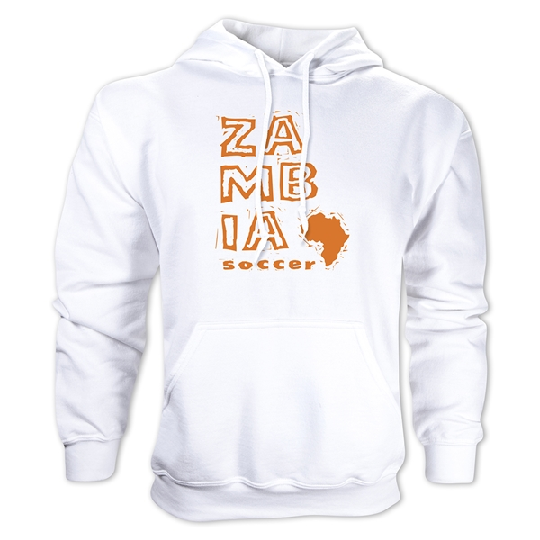 Zambia Country Hoody (White)