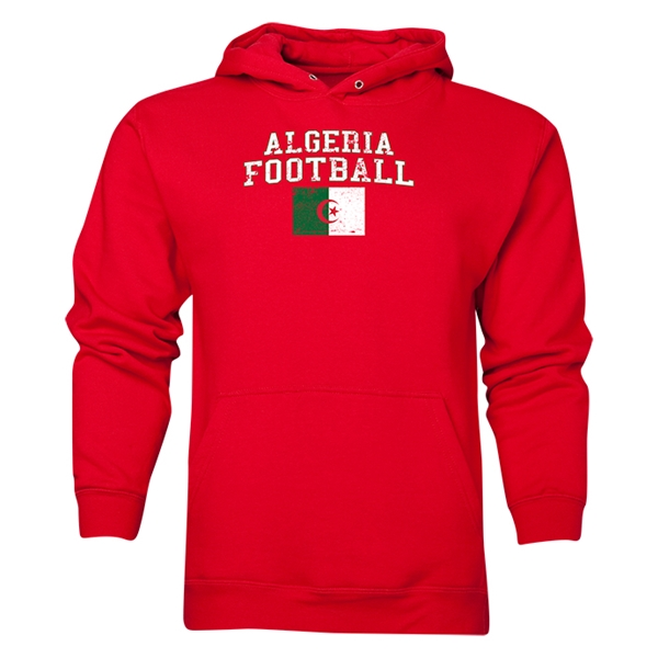 Algeria Football Hoody (Red)
