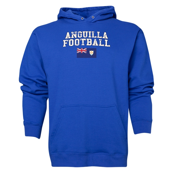 Anguilla Football Hoody (Royal)