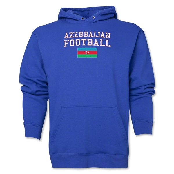 Azerbaijan Football Hoody (Royal)