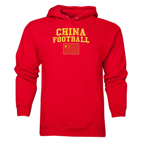 China Football Hoody (Red)