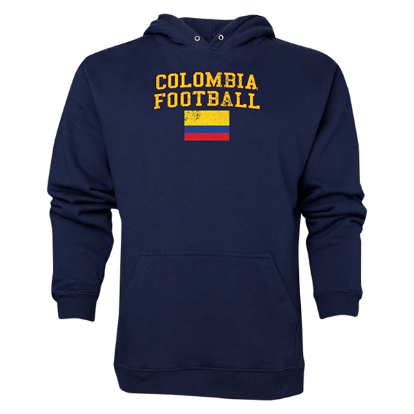 Colombia Football Hoody (Navy)