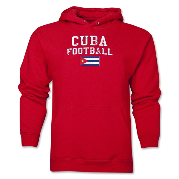 Cuba Football Hoody (Red)