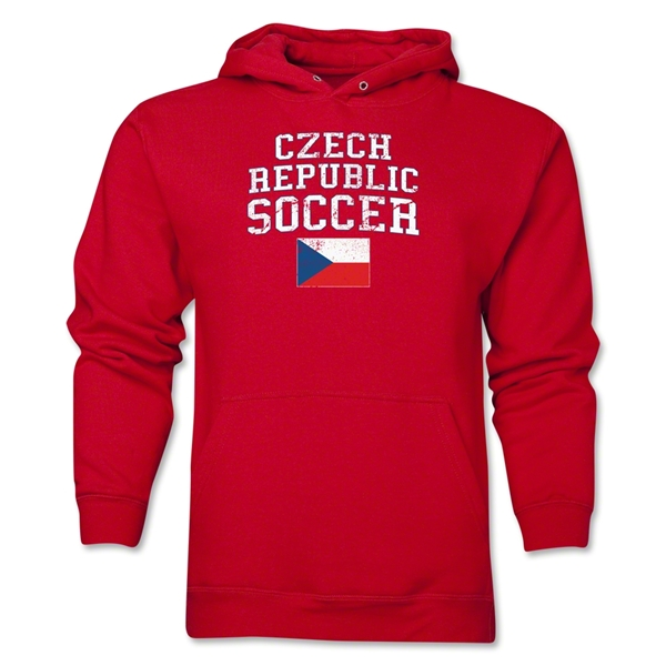 Czech Republic Soccer Hoody (Red)