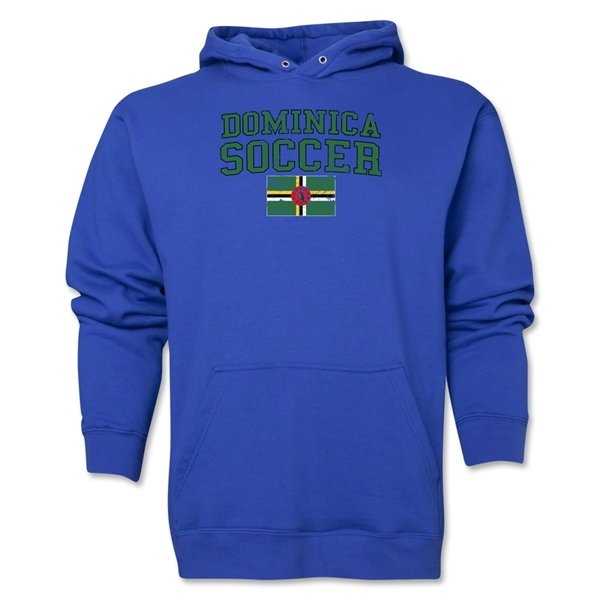 Dominica Soccer Hoody (Royal)