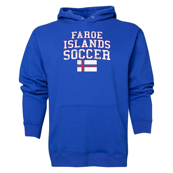 Faroe Islands Soccer Hoody (Royal)