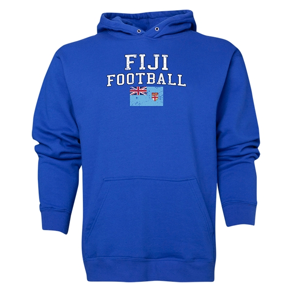 Fiji Football Hoody (Royal)