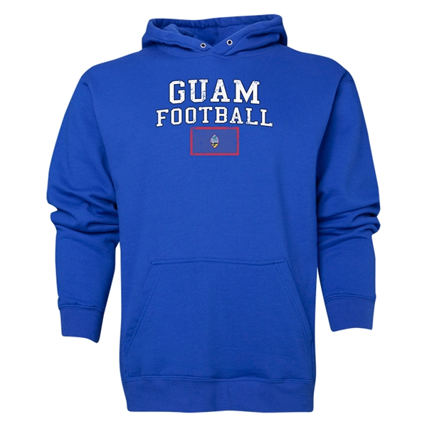 Guam Football Hoody (Royal)