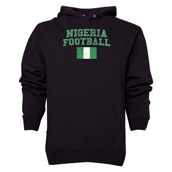 Nigeria Football Hoody (Black)