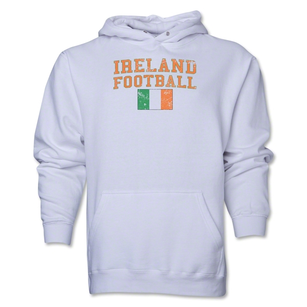 Ireland Football Hoody (White)