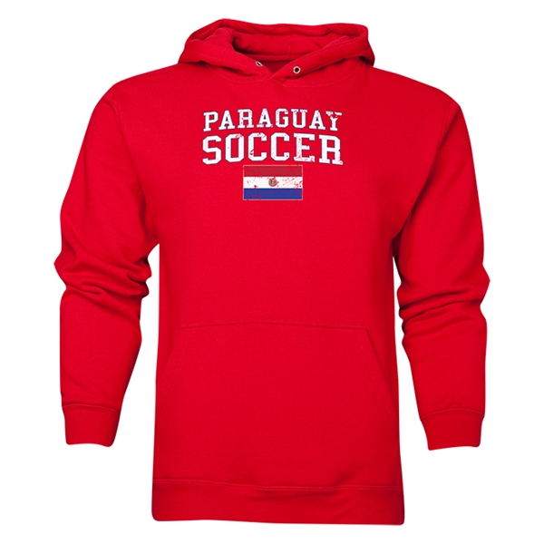 Paraguay Soccer Hoody (Red)