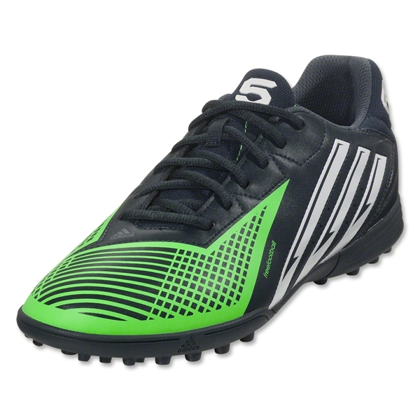 adidas FreeFootball x-ite TD (Tech Onyx/Running White/Green Zest)
