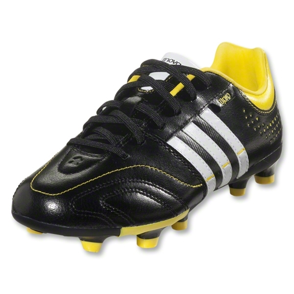 adidas 11Nova TRX FG Junior (Black/Running White/Vivid Yellow)