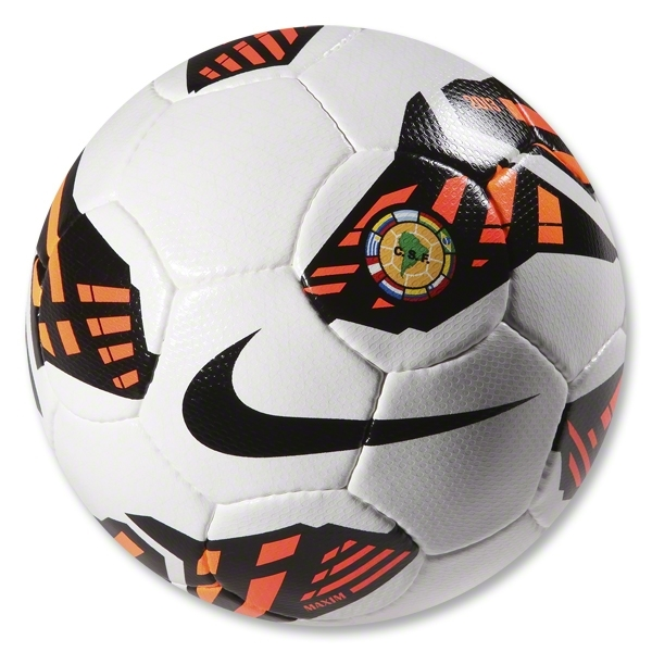 Nike Maxim CSF Ball (White/Total Crimson)