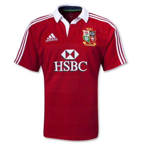 British and Irish Lions 2013 Home Rugby Jersey