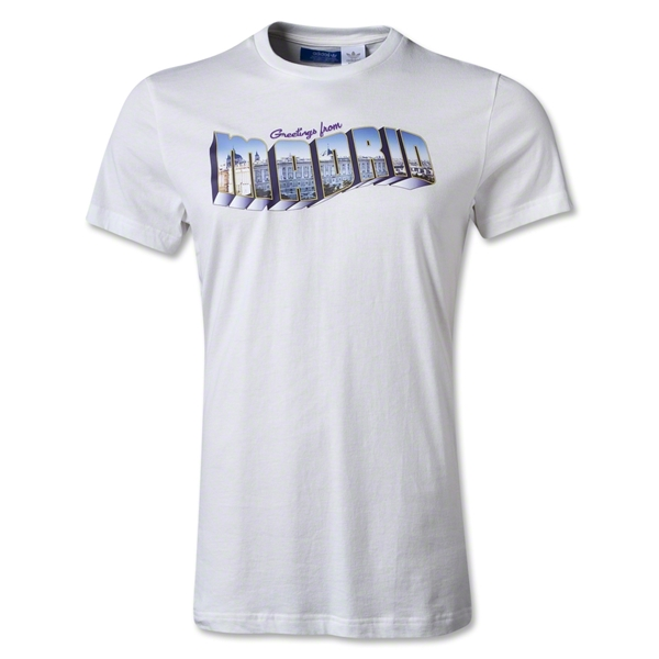 Real Madrid Originals Greetings From Madrid Postcard T-Shirt