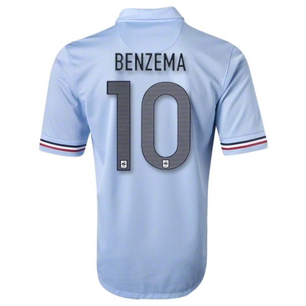 France 2013 BENZEMA Away Soccer Jersey
