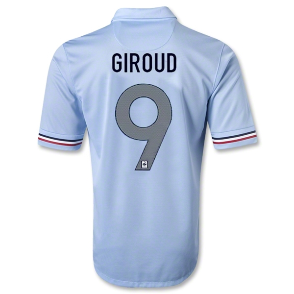 France 12/13 GIROUD Away Soccer Jersey