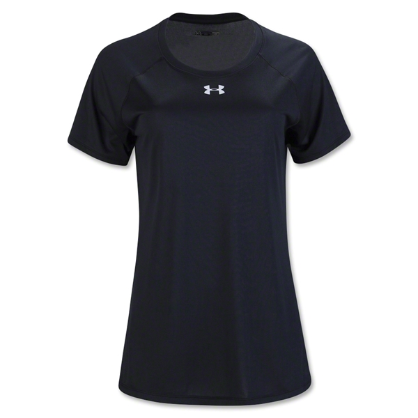 Under Armour Women's Locker T-Shirt (Black)