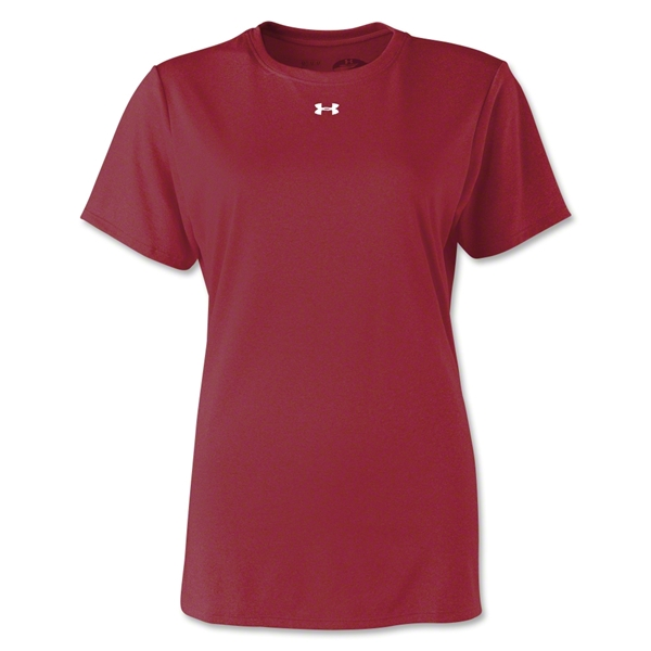 Under Armour Women's Locker T-Shirt (Cardinal)