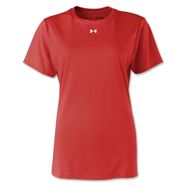 Under Armour Women's Locker T-Shirt (Red)