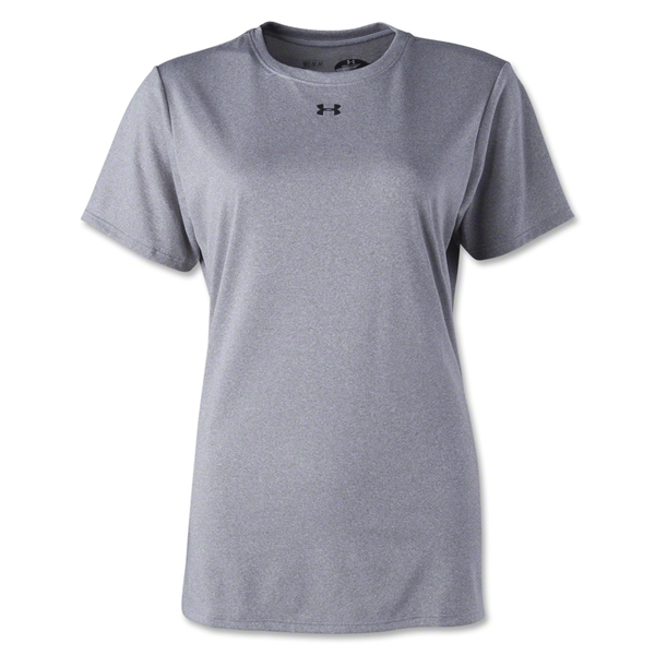 Under Armour Women's Locker T-Shirt (Gray)