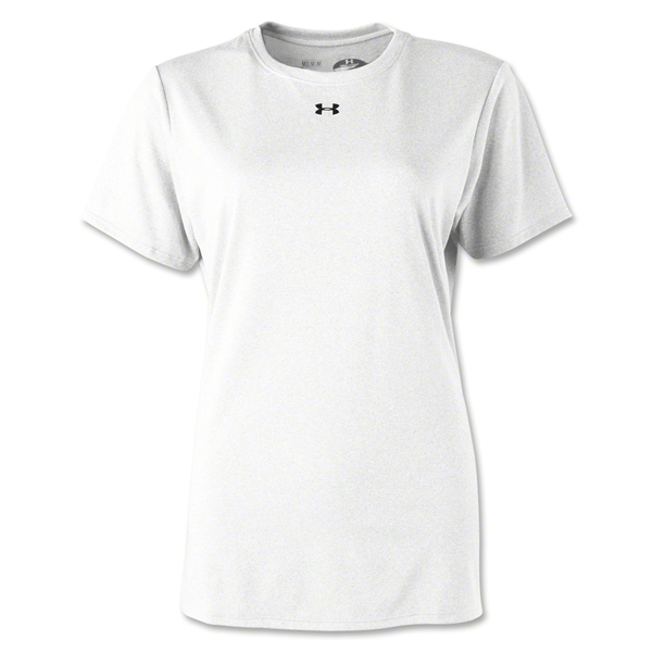 Under Armour Women's Locker T-Shirt (White)