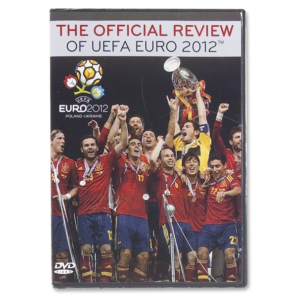 UEFA Euro 2012 Official Review DVD