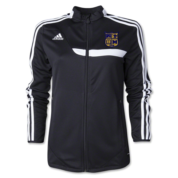 Michigan Rugby Women's Training Jacket (Black)