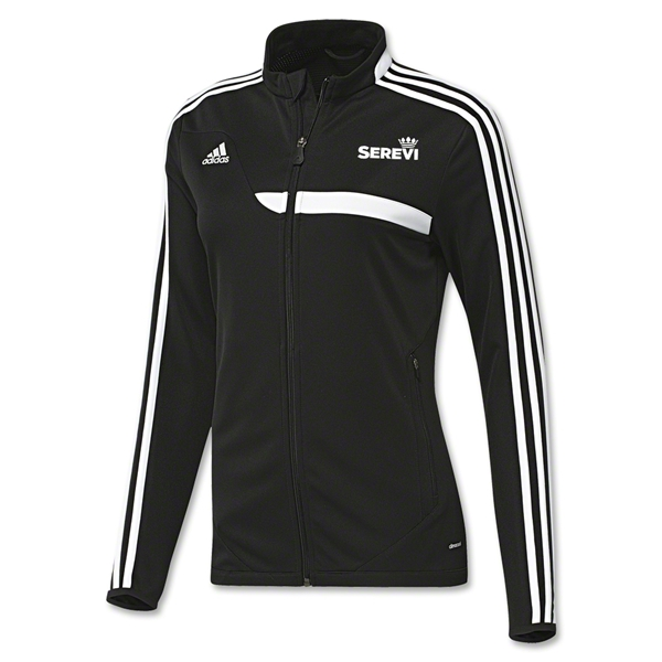 adidas Serevi Tiro 13 Women's Training Jacket (Black)