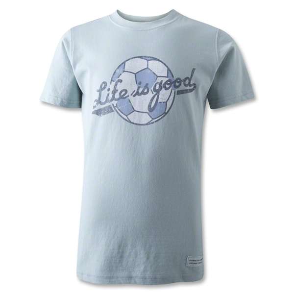 Life is Good Youth Ballyard Script Soccer T-Shirt