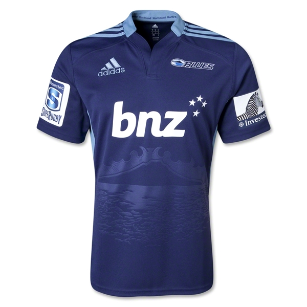 Blues 2013 Home SS Rugby Jersey