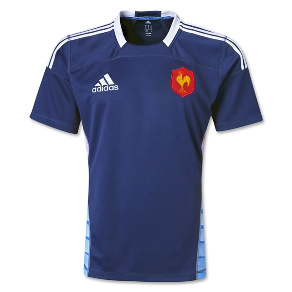 France 12/13 Sevens SS Rugby Jersey