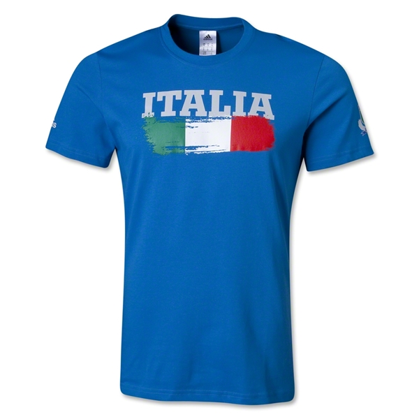 Italy Supporter T-Shirt (Royal)