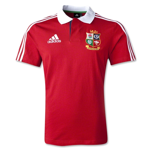 British and Irish Lions 2013 Polo (Red)