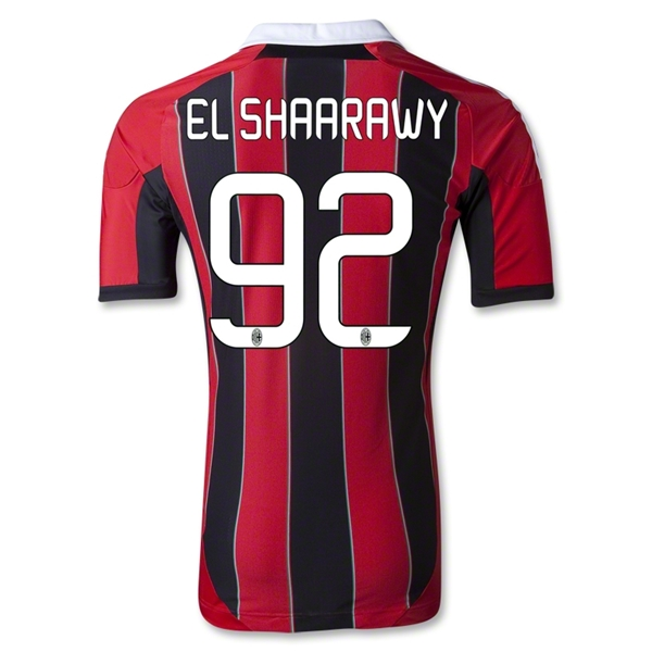 AC Milan 12/13 EL SHAARAWY Authentic Home Soccer Jersey