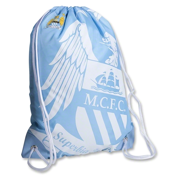 Manchester City Big Logo Gymbag