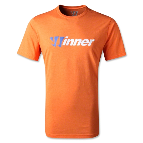 Warrior Winner 50/50 T-Shirt (Orange)