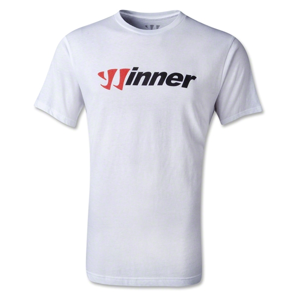 Warrior Winner 50/50 T-Shirt (White)