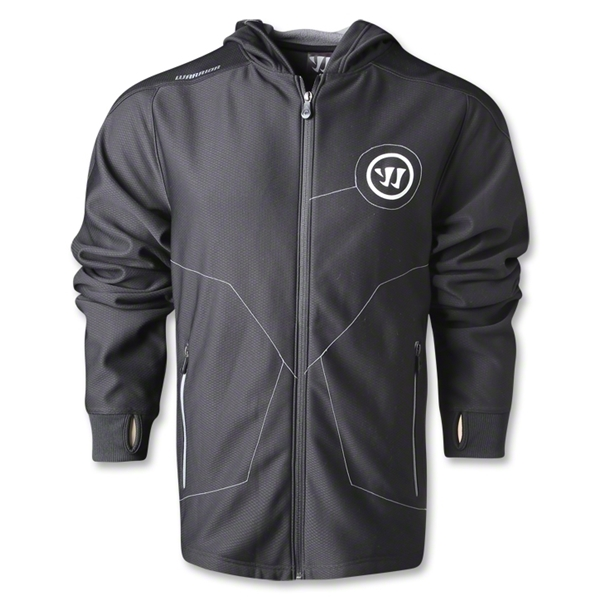 Warrior Performance Full-Zip Sweatshirt (Black)