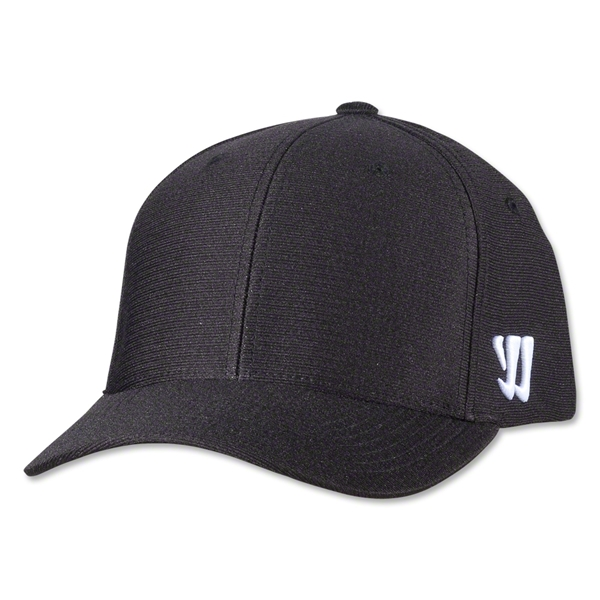 Warrior New Logo Flex Cap (Black)