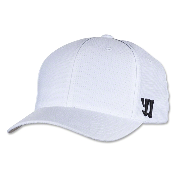 Warrior New Logo Flex Cap (White)