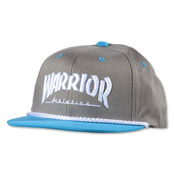 Warrior Thrashed Youth Cap (Dk Grey)