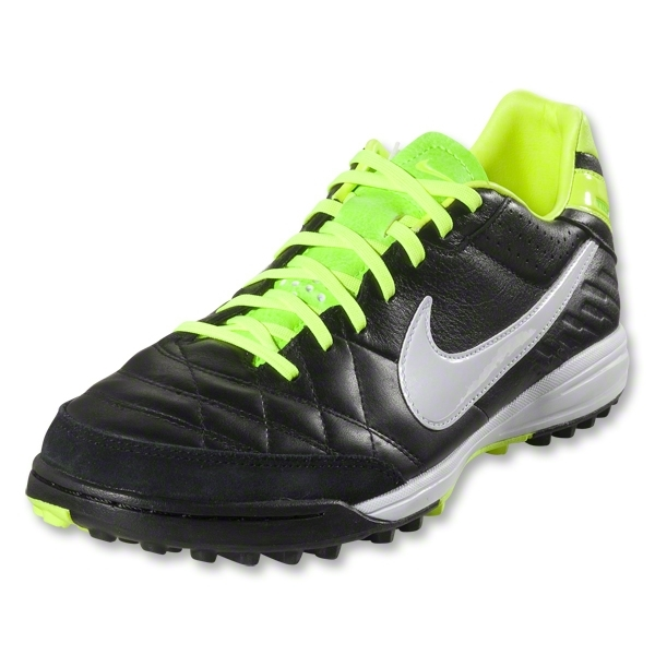 Nike Tiempo Mystic IV TF (Black/Electric Green/White)
